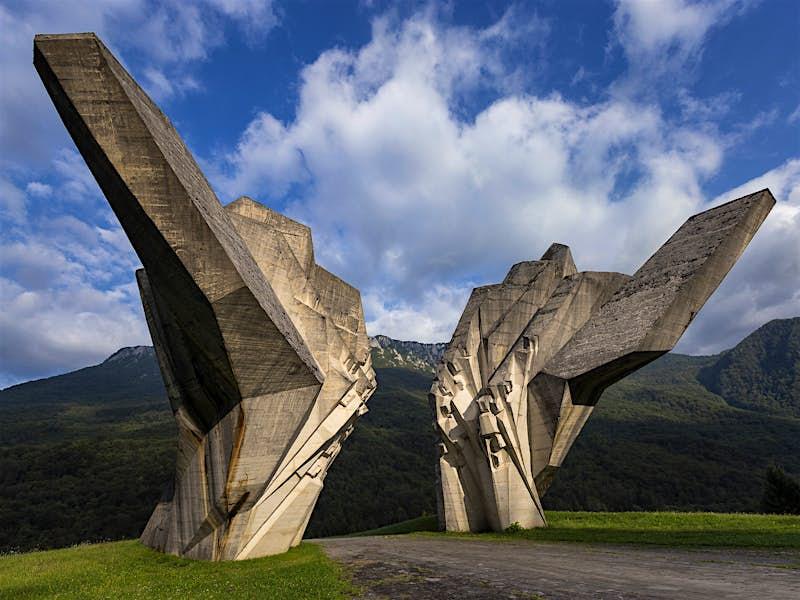 The power of art: epic Yugoslav monuments in the Balkans