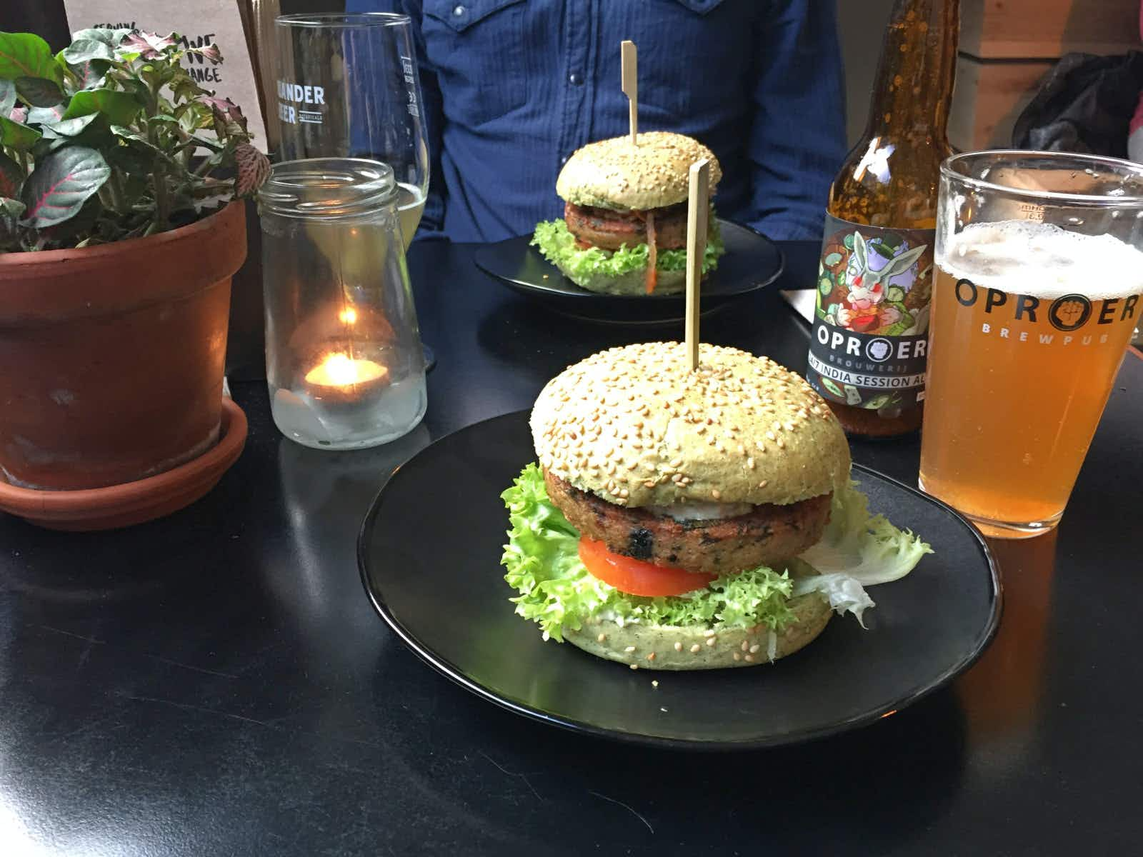 The Dutch Weed Burger Joint in Oud-West, Amsterdam © Claire Bissell / Lonely Planet