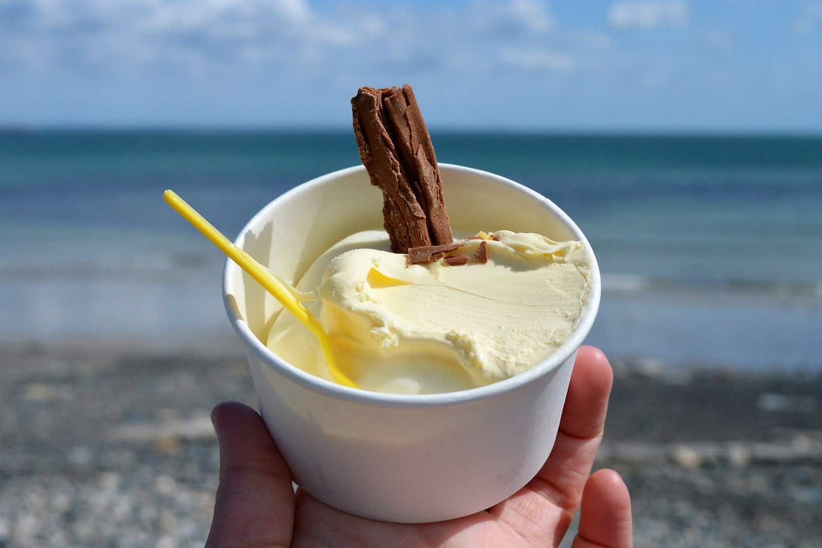 If you're in Penzance and you've got to have an ice cream, Jelbert's is the place to go © Emma Sparks / Lonely Planet