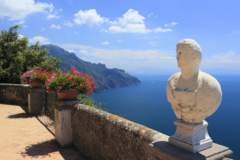 Views of the ocean from Villa Cimbrone, Italy © MIXA Co. Ltd / Getty Images
