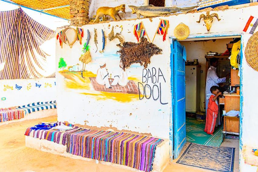 Interior of a house in a Nubian village near Aswan © Anton_Ivanov / Shutterstock
