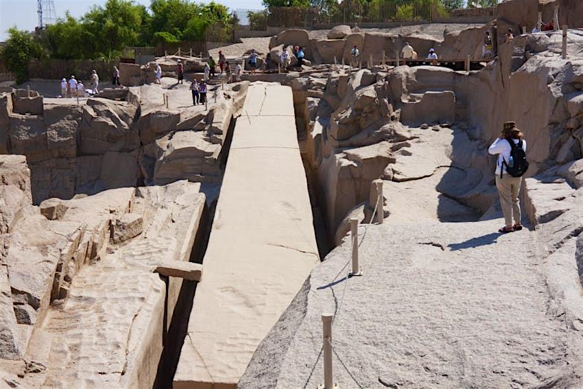 Unfinished obelisk, Aswan, Egypt © Peter Langer / Getty Images