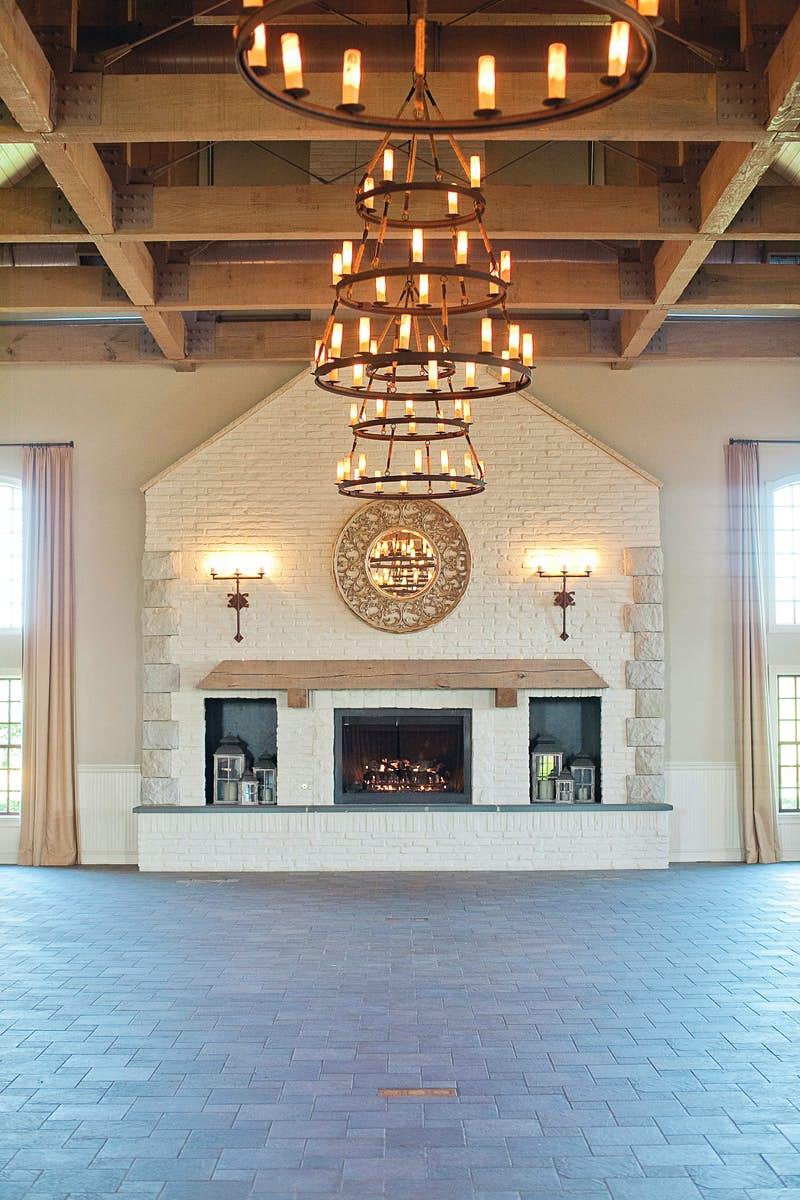 The interior at Early Mountain Vineyards
