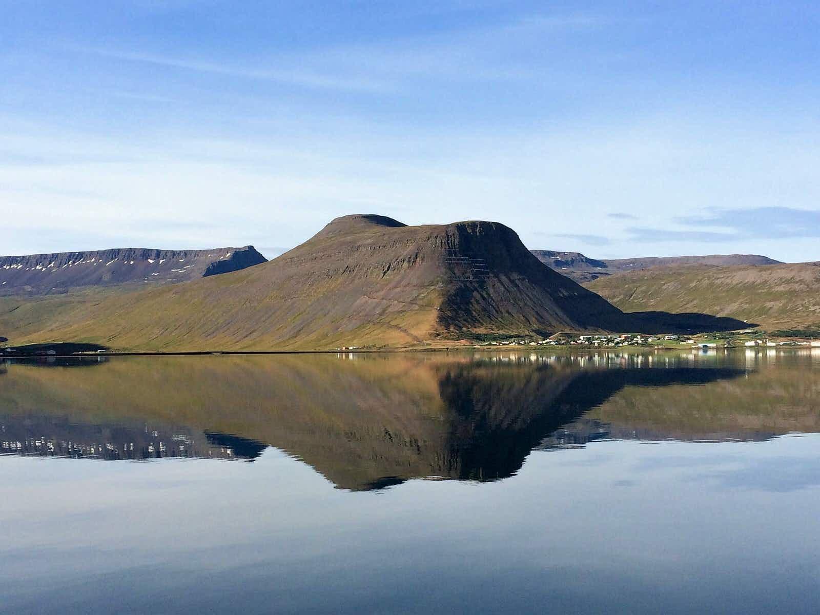 Beautiful northwest Iceland scenery