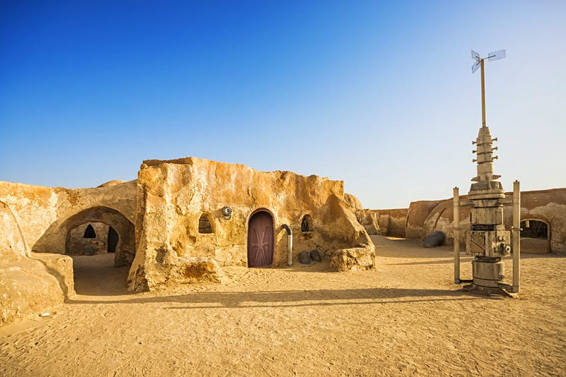 Finding the Force: exploring Star Wars film sets in Tunisia