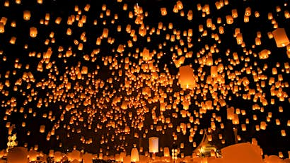 Where to celebrate Loi Krathong in Chiang Mai
