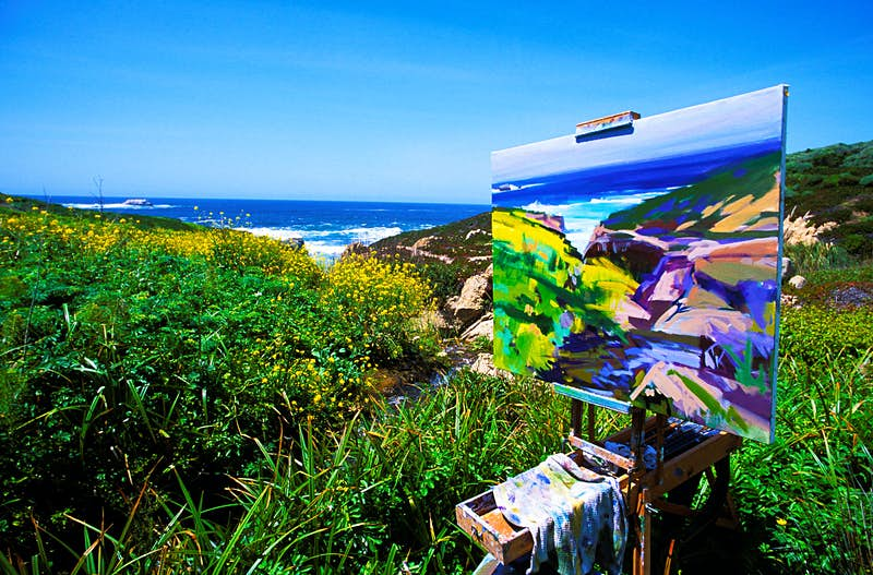 Chasing art in Carmel-by-the-Sea and Big Sur