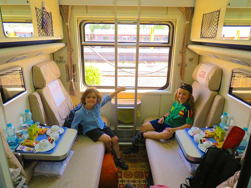 All aboard the Slumber Express: family travel by night train