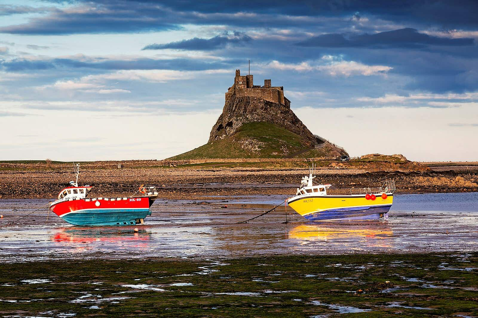 Living By The Tides On Northumberlands Holy Island Lonely