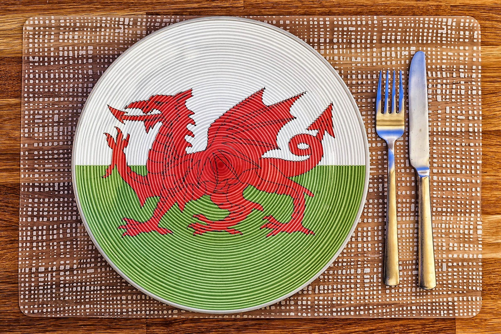 Wales Welsh /'Cymru/' Kitchen Linen Set