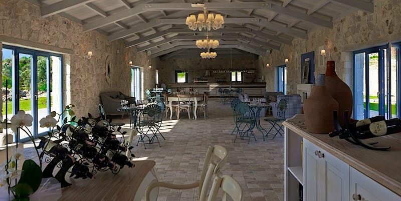 USCA winery's stone-built tasting room