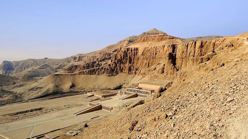 Hatshepsut's Memorial Temple in Luxor, Egypt