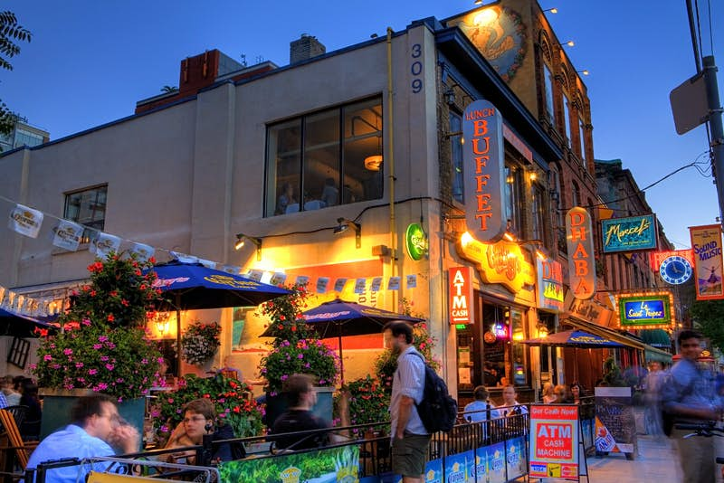Cafes and bars in Toronto