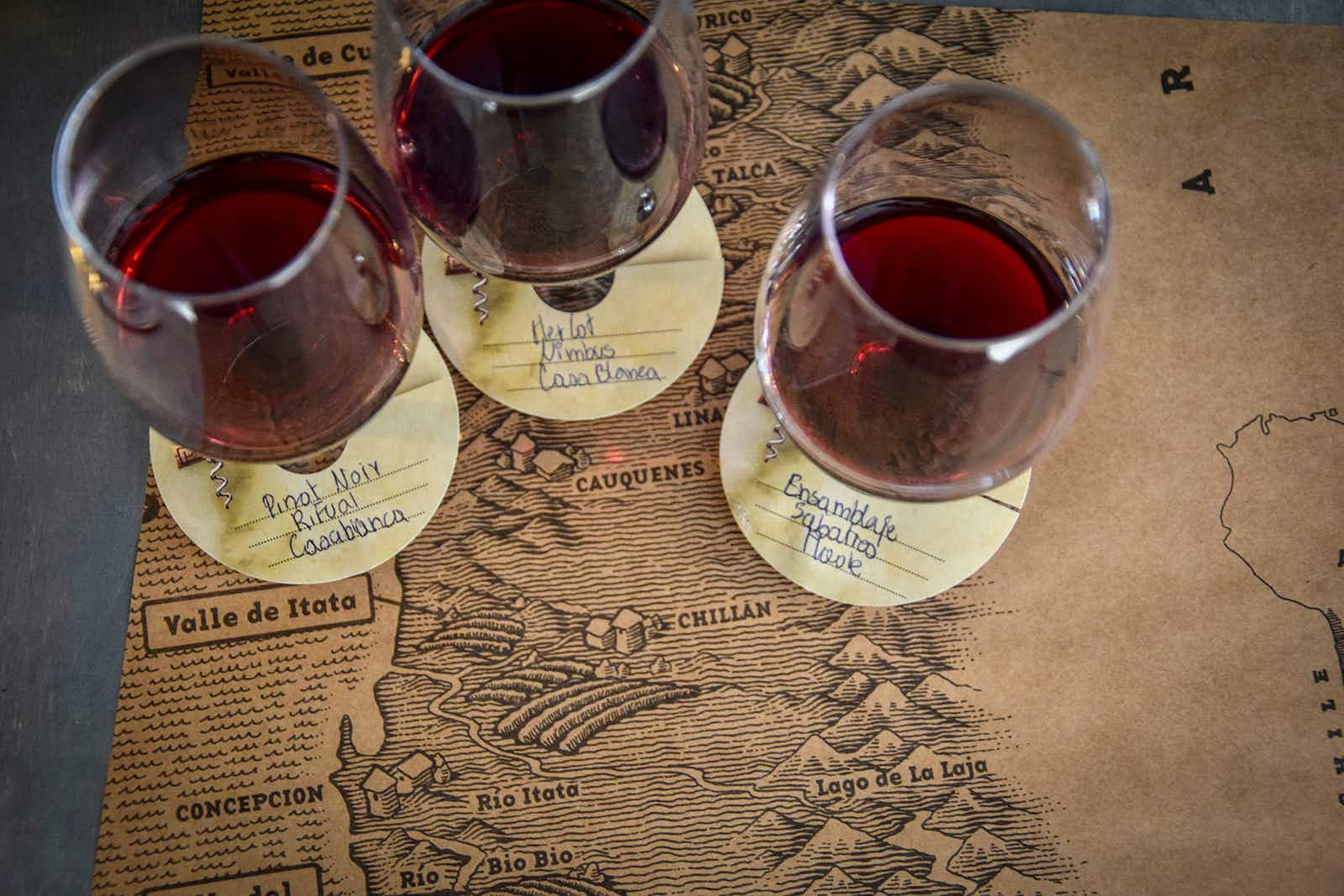 Chilean wine holds a legendary place in world viticulture © Mark Johanson / Lonely Planet