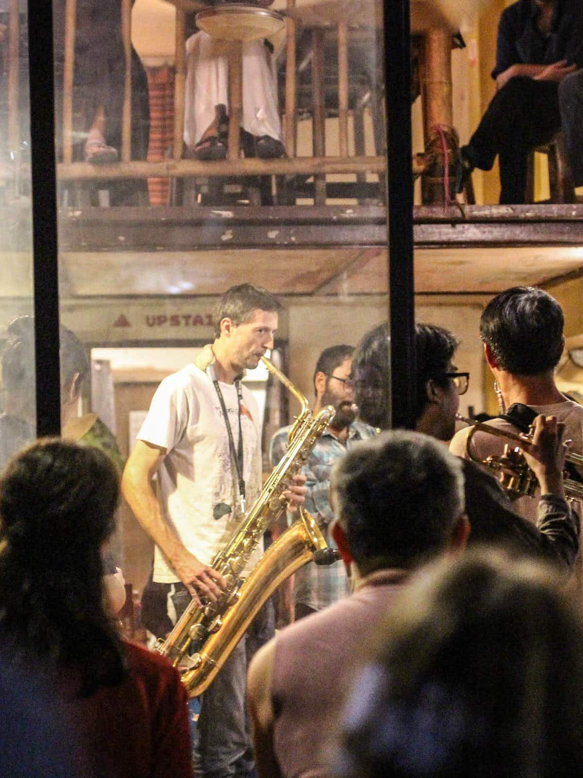 Head to North Gate Jazz Co-Op for live music every night©Alana Morgan / Lonely Planet