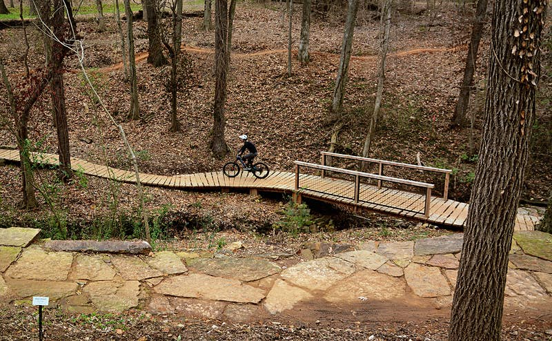 Discover the ever-expanding network of mountain bike trails