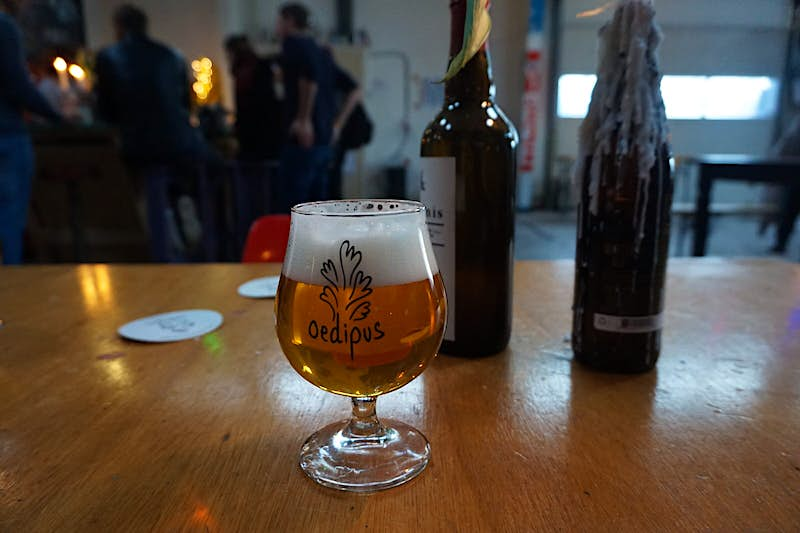 Sample 2019's seasonal brews at the Oedipus Brewery & Tap Room © Claire Bissell/Lonely Planet