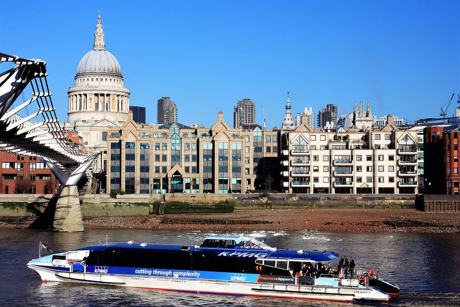 London has become more accessible for visitors with disabilities in recent years with sights, like St Paul's, and transport, like the Thames Clippers, making improvements © Tony Baggett / Getty Images