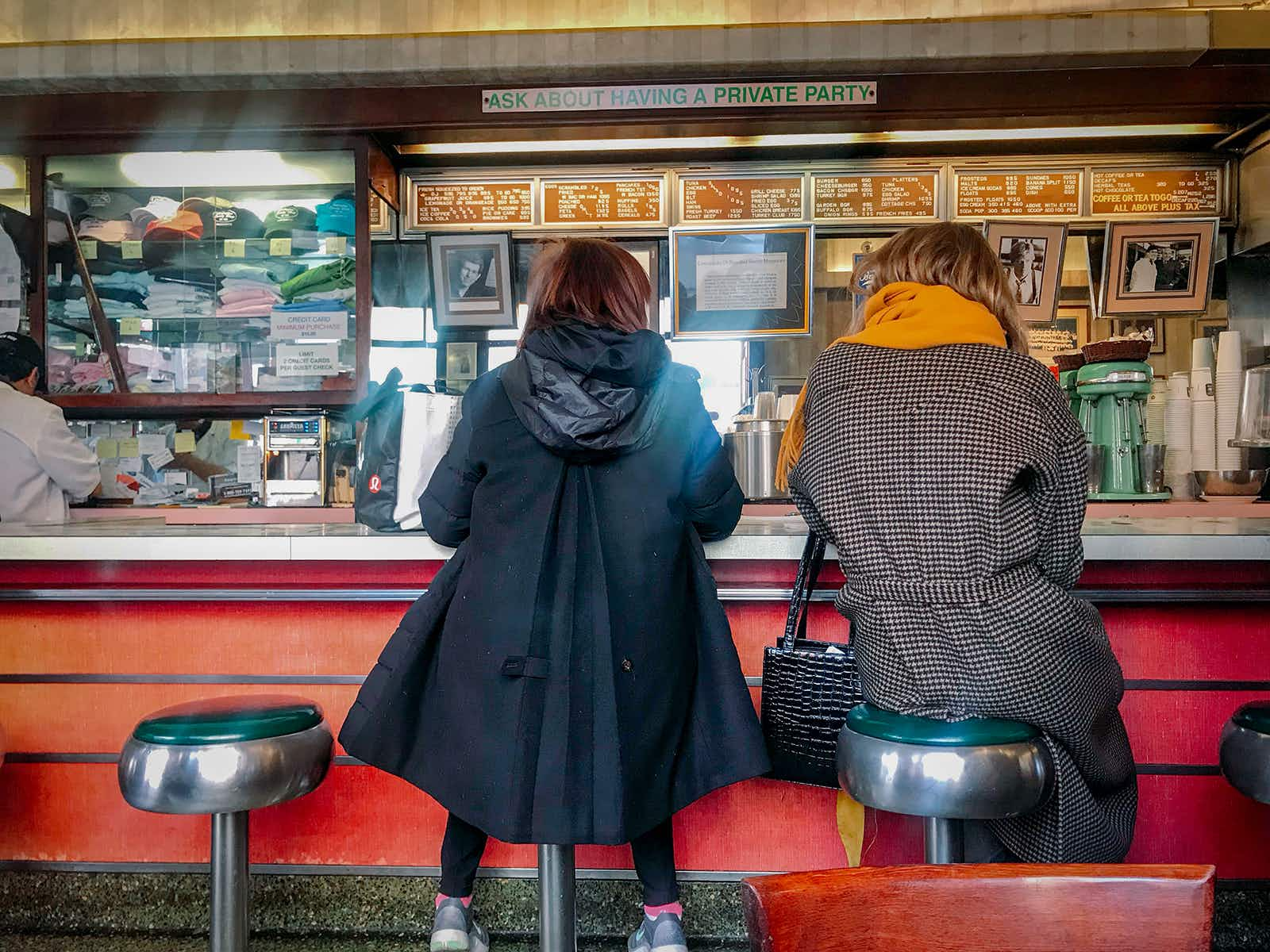 Settle in at one of New York City's historic diners © Mikki Brammer / Lonely Planet