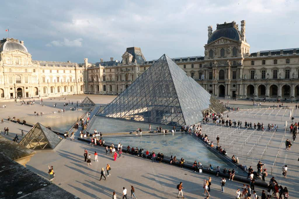The Louvre is struggling under the weight of its ever-increasing appeal. Image by Bertrand Rindoff Petroff/Getty Images
