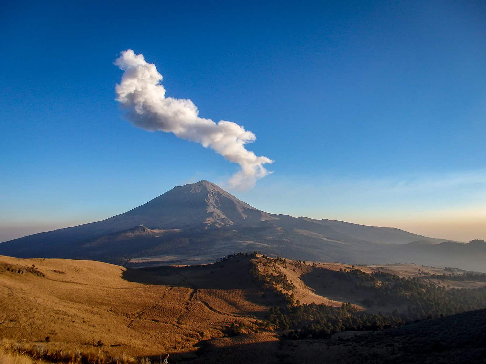 The photogenic Paso de Cortes gets you up close and personal with volcanoes ©Molly McLaughlin / Lonely Planet