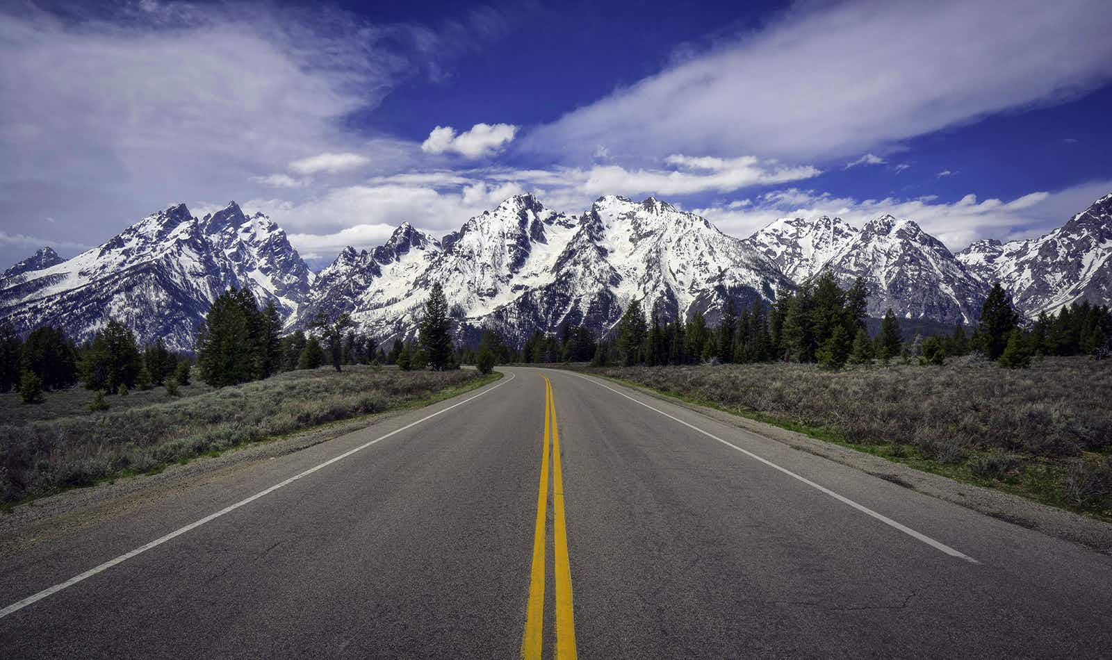 Cruise toward that Rocky Mountain ridge with the perfect soundtrack © Jeff R Clow / Getty Images