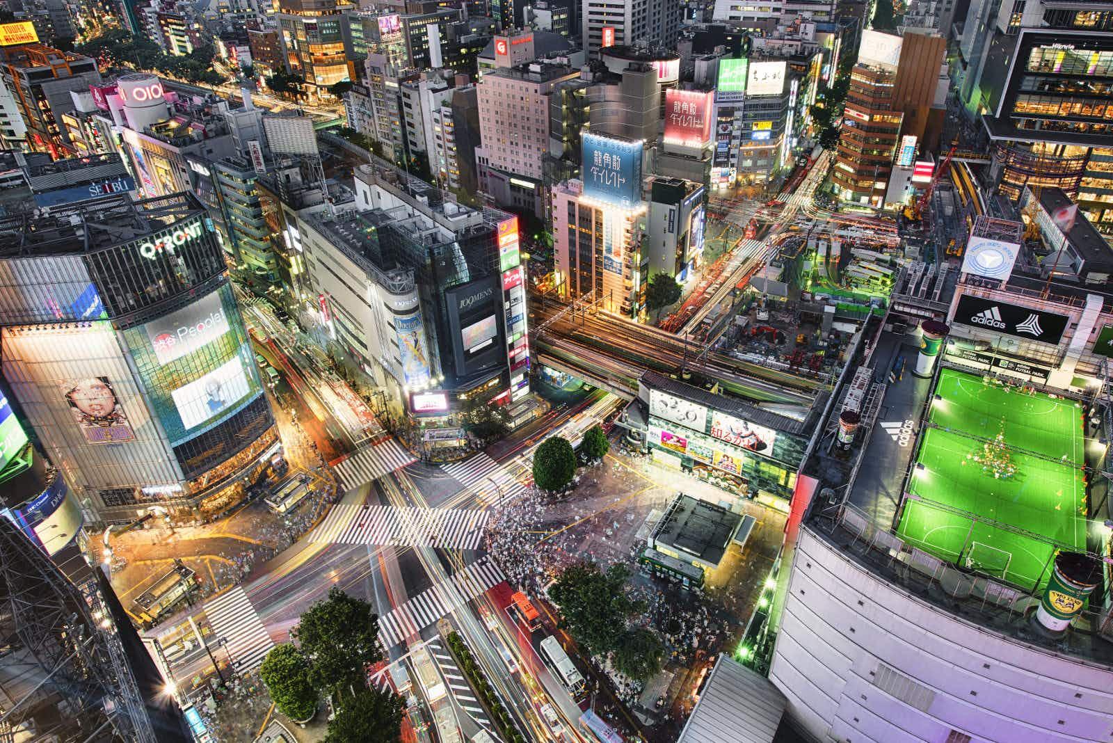Shibuya Crossing in Tokyo © Duane Walker