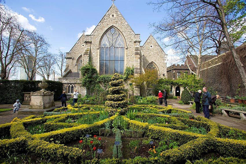 London's Garden Museum is housed in the disused church of St Mary-at-Lambeth