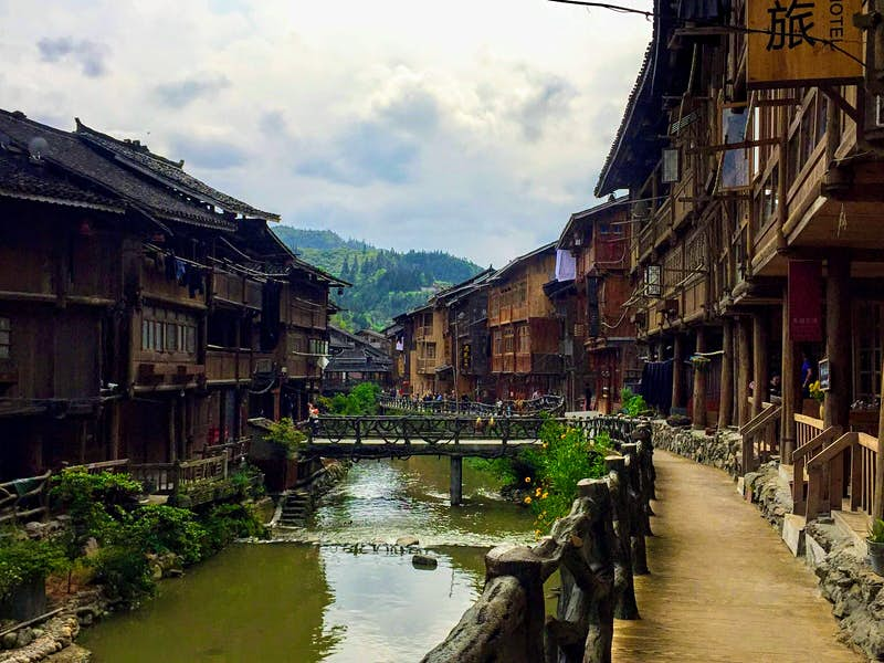 The traditional Miao village of Zhaoxing © Megan Eaves / Lonely Planet