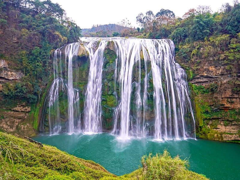 Huangguoshu Waterfall is Guizhou's most popular natural attraction © HelloRF Zcool / Shutterstock