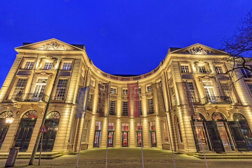 Features - exterior of The Hague's Royal Theatre