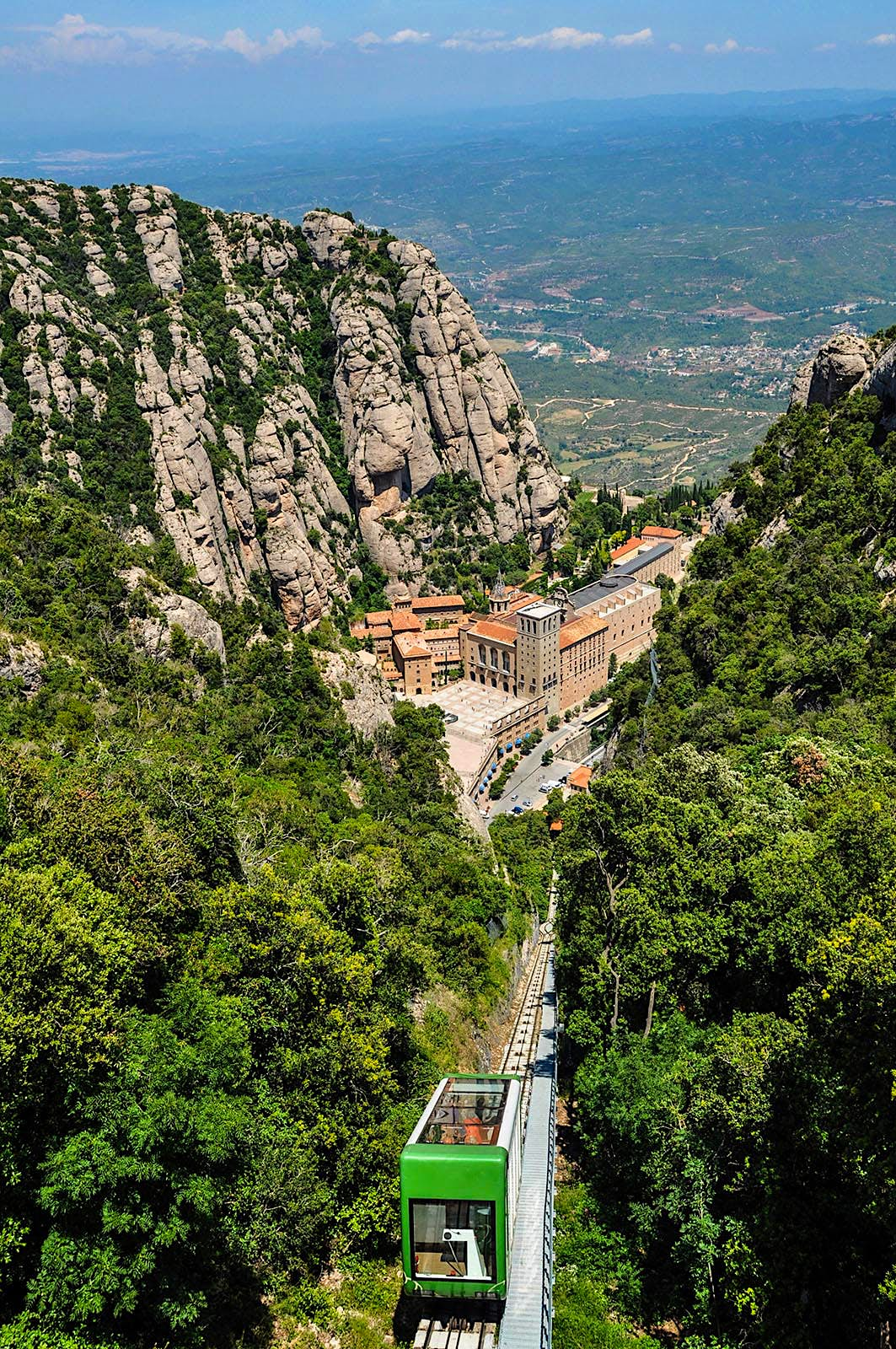 Santa Maria de Montserrat is an abbey of the Order of Saint Benedict located on the mountain of Montserrat in Catalonia, Spain.