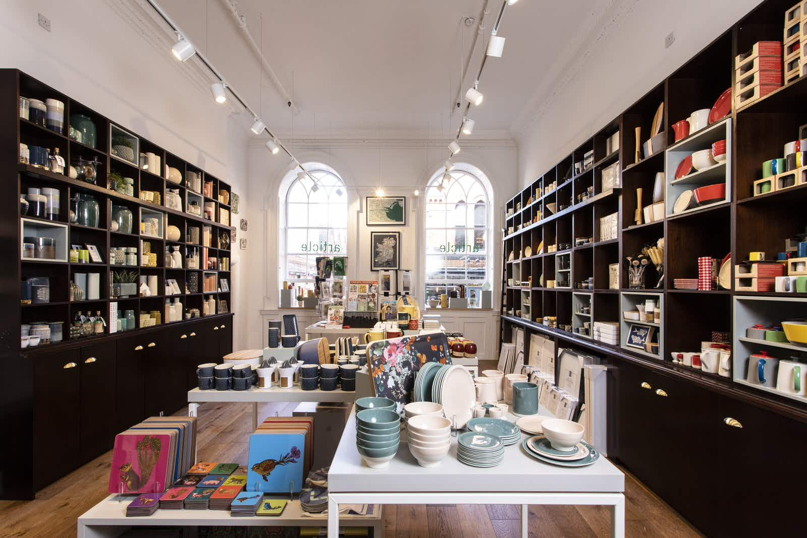 Ditch the Guinness trinkets and pick up something unique in Dublin's independent shops © Sean and Yvette