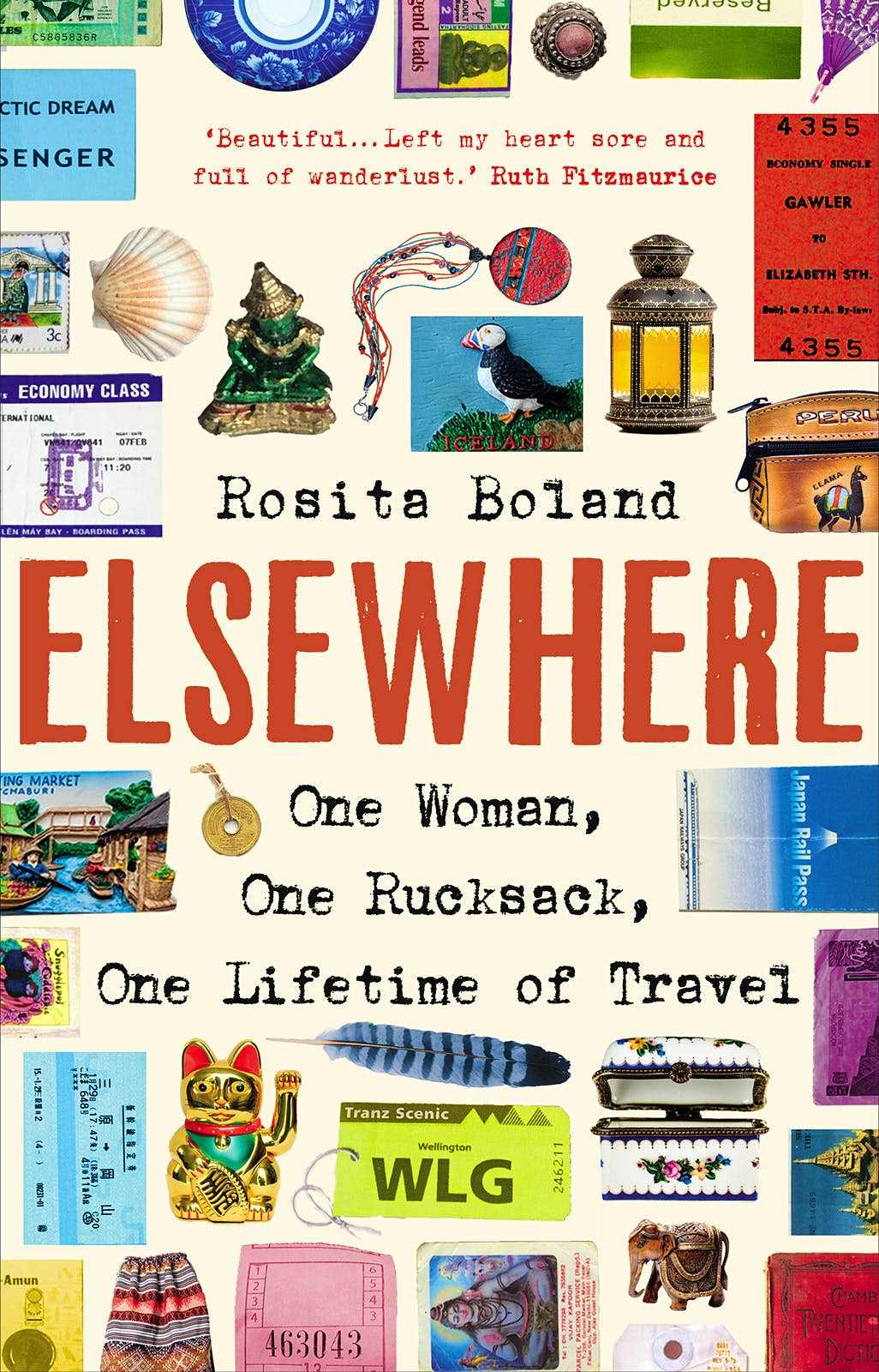 The jacket cover for Elsewhere by Rosita Boland.