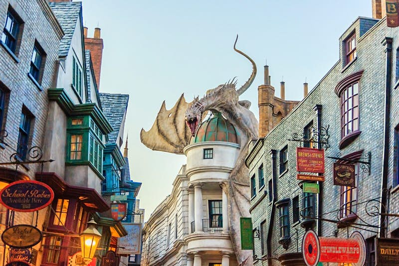 Where to travel based on your Harry Potter Hogwarts house