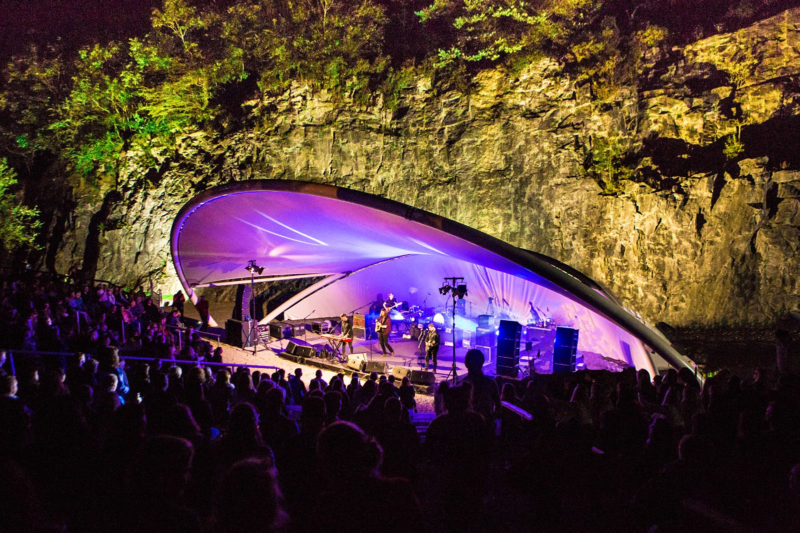 The Riptide Movement perform at Ballykeefe Amphitheatre © Michael Duggan