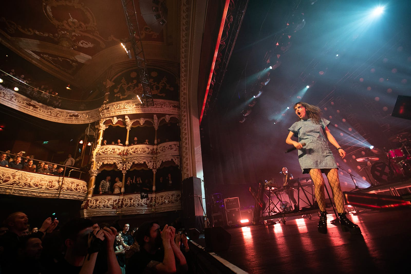 CHVRCHES at the Olympia Theatre in Dublin