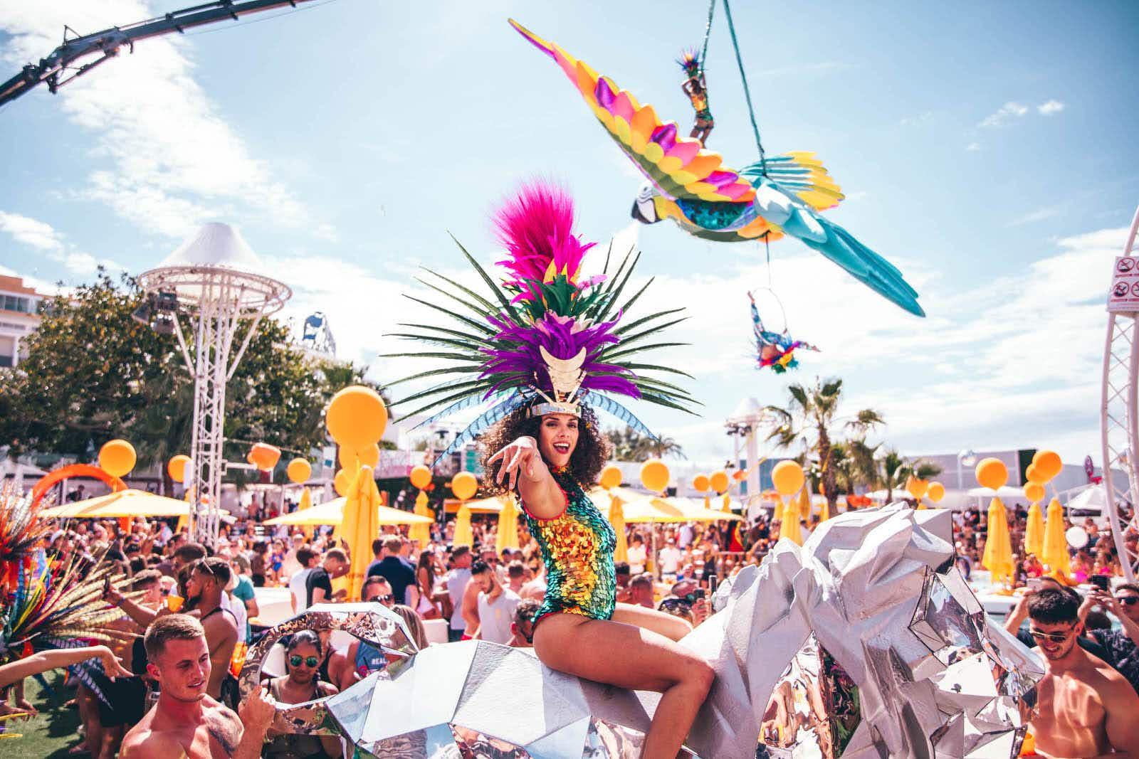 O Beach Ibiza's closing party is notoriously epic © Cm.Robinson Photography