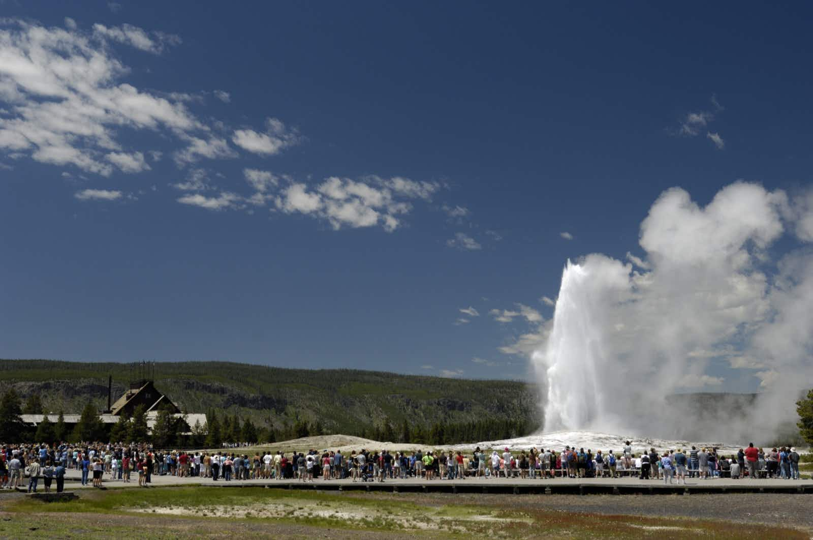 Crowds have surged at many US National Parks, especially Yellowstone © VCNW / Getty Images