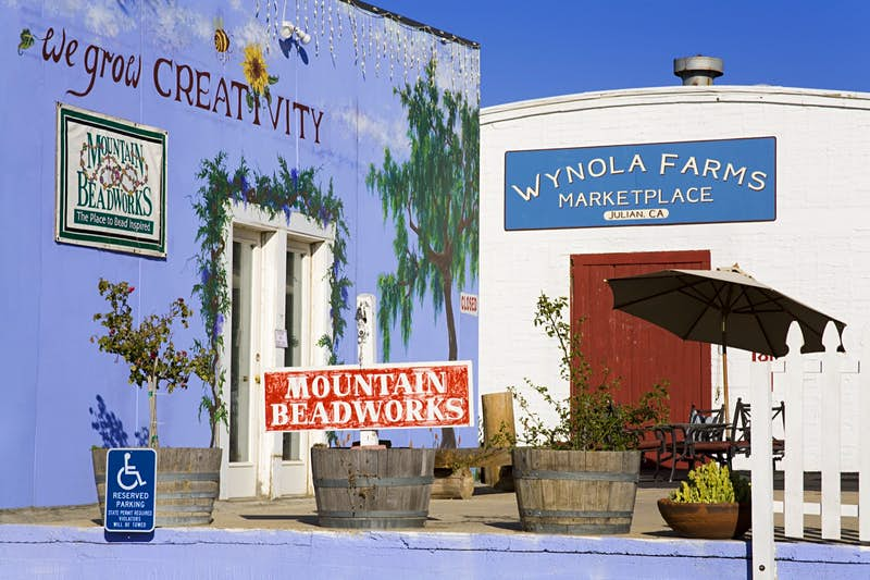 Features - Wynola Farms Marketplace at Wynola Junction near Julian.