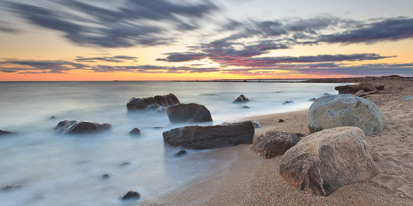 Beaches like Hammonasset in Madison, Connecticut, are the perfect summer escape from NYC © Connecticut Office of Tourism