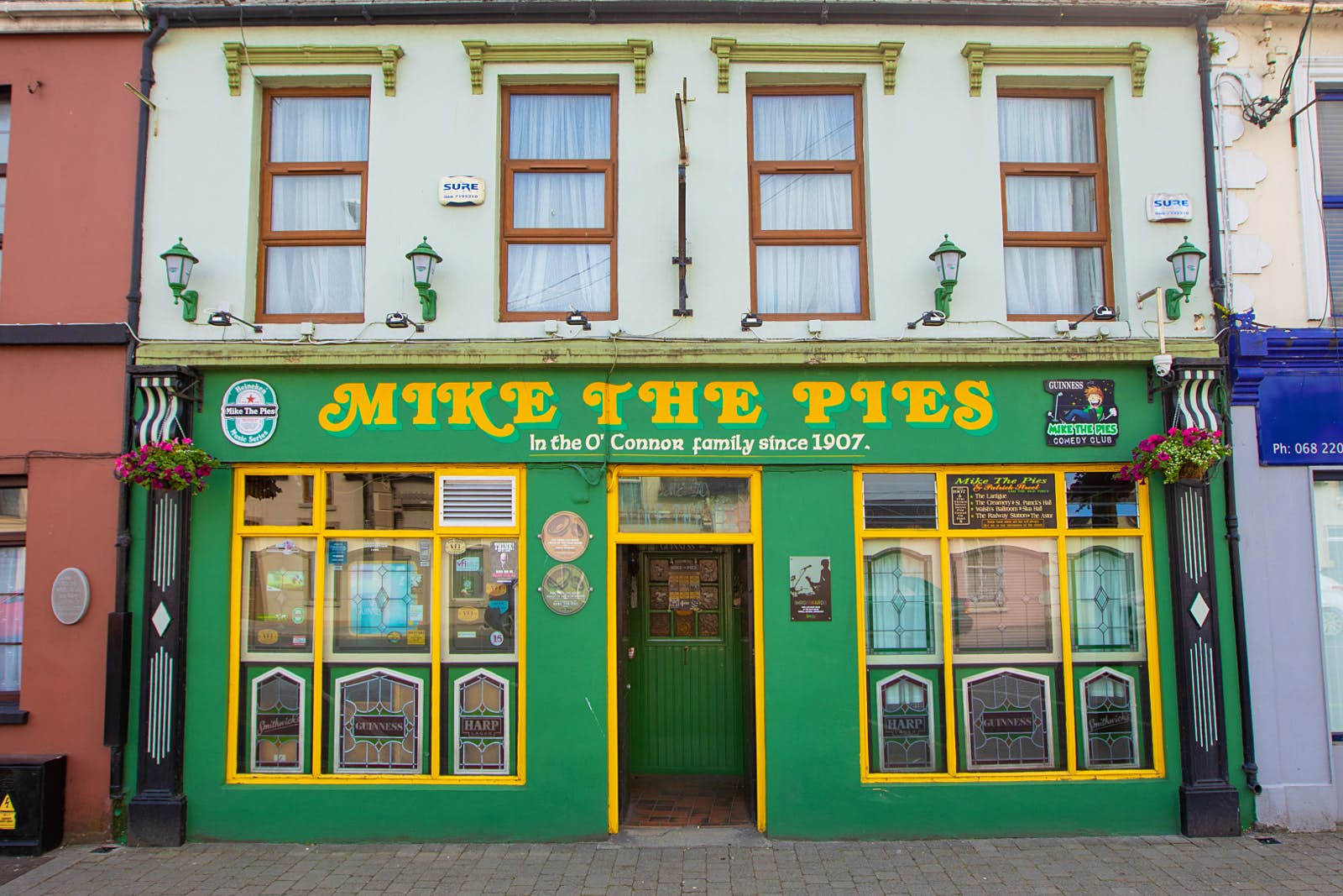 Mike the Pies in Listowel