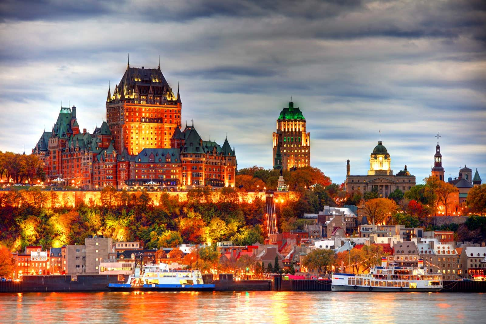 Quebec City's amazing skyline is just one reason to visit this jewel on the St Lawrence © DenisTagneyJr / Getty Images