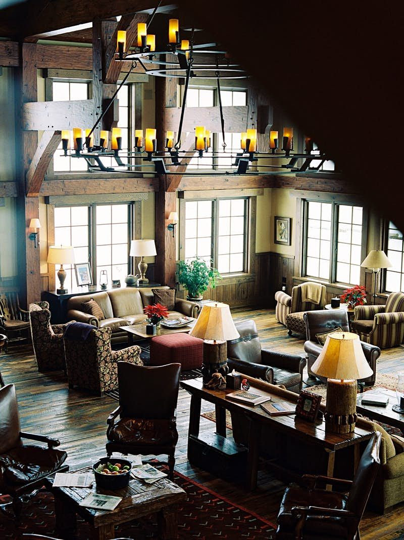 The interior of Vista Verde Guest Ranch, an all-inclusive resort with a wild west vibe; all-inclusive resort adventures