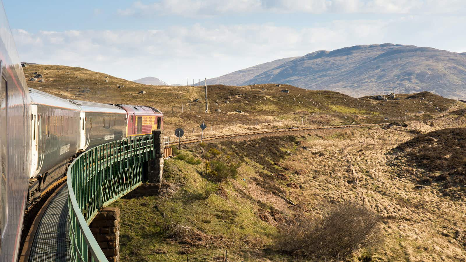 The Caledonian Sleeper: Britain's best train journey?