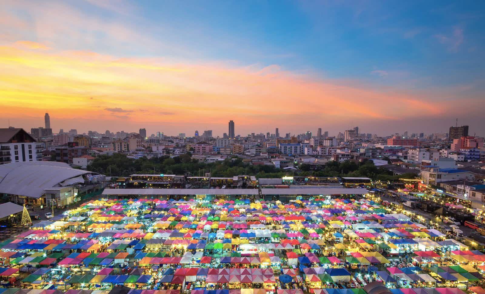 Bangkok in Thailand has come in first position again in Mastercard's Global Destination Cities Index .Image: Preecha Makjan/500px