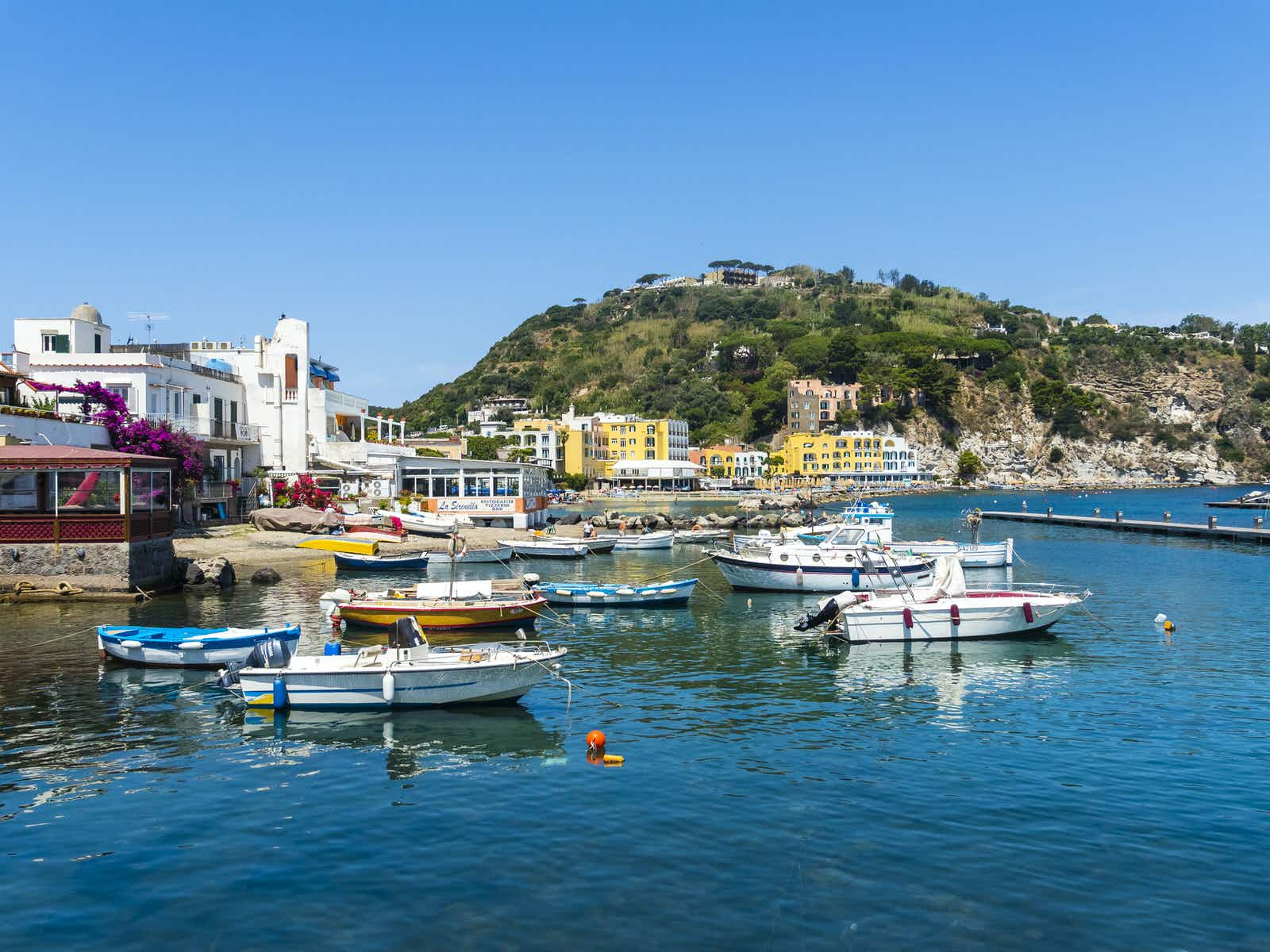 Picturesque Ischia is worth spending 20 extra minutes on a ferry to reach © Getty Images