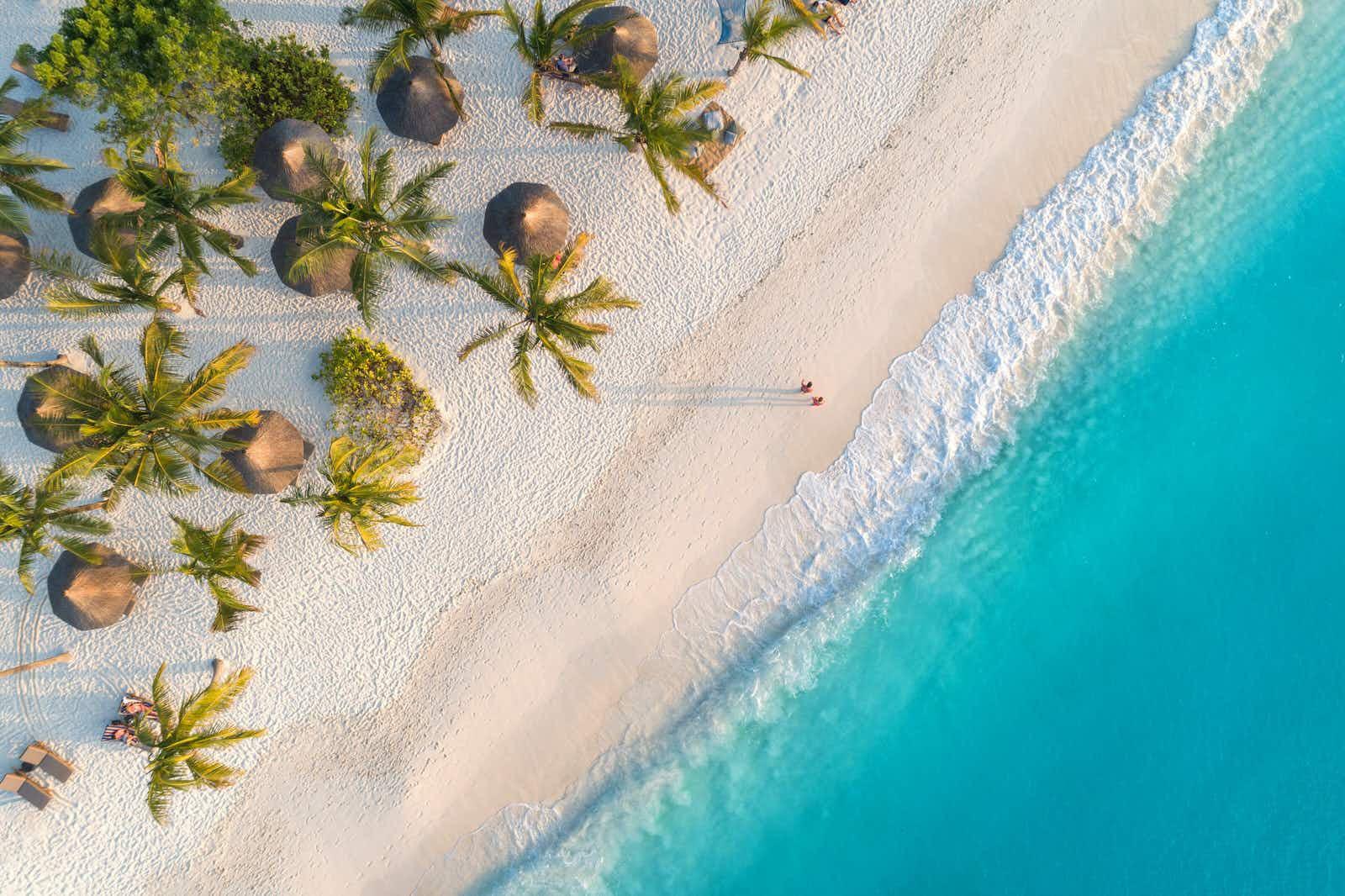 Zanzibar's coast is a picture perfect palette of tropical beach bliss © Den-Belitsky / Getty Images
