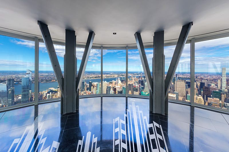 The Empire State's fabulous new observatory has been unveiled