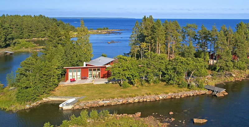 A Swedish island with spectacular sunsets could be yours